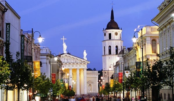 lithuania capital attraction