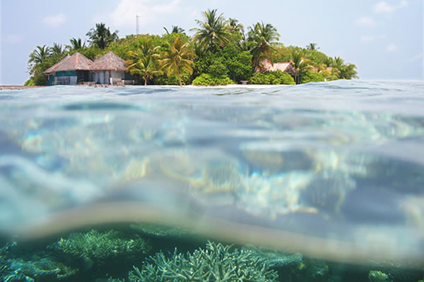 maldives carbon neutral