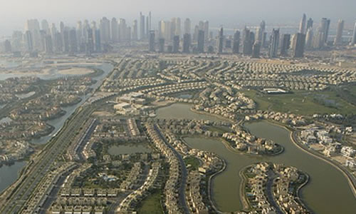 uae property prices up